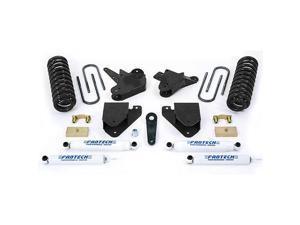 """Fabtech K2100 6"""" Basic System w/ Performance Shocks - 2001-04 Ford F250/F350 & 2000-05 Excursion 2WD w/ 7.3L Diesel"""