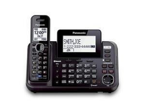 Panasonic KX-TG9541B 2 Line DECT 6.0 Plus  1.9GHz 1 Handset Expandable Cordless Phone