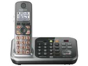 Panasonic KX-TG7741S DECT 6.0 Plus 1.9GHz 1 Handset Expandable Cordless Phone W/ Link-to-Cell Bluetooth