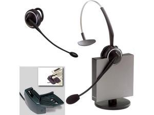 Jabra GN9125 Flex DECT 6.0 Convertible Wireless Headset W/ Lifter
