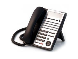 NEC 1100063 - Black Digital 24-Button Telephone