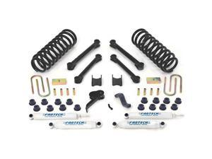 "Fabtech K3037 4.5"" Performance System w/ Performance Shocks - 2009-13 Dodge 2500/3500 4WD Diesel Only"
