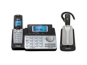 Vtech DS6151 plus IS600 2 Line Expandable cordless phone