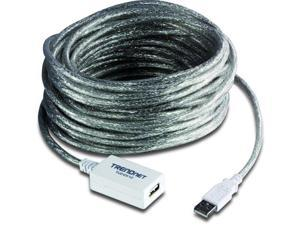 TRENDnet GD6839M TRENDnet USB 2.0 Type A Male to Type A Female Extension Cable, 12 Meters/ 39 Feet