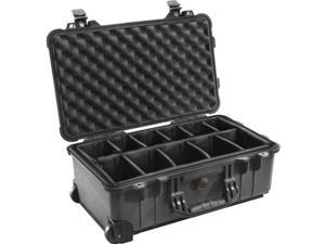 Pelican Products V32653B Pelican Products 1510-004-110 Case with Padded Dividers Black
