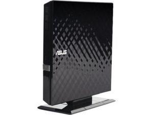 asus SDRW08D2SUBGACIB External Slim 8X DVD-RW Stylish Cut Design Optical Drive SDRW-08D2S-U/BLK/G/AS