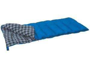 Stansport 525SB Stansport Prospector Rectangular Sleeping Bag (Blue Plaid, 35-Degree)
