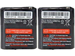 Rechargeable Battery For Motorola 53615 (2-Pack)