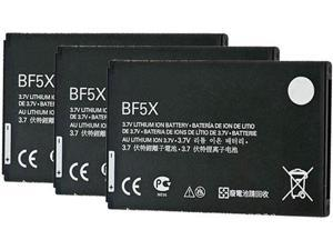 Replacement Cell Phone Battery for Motorola Bat-BF5X ( 3 Pack )