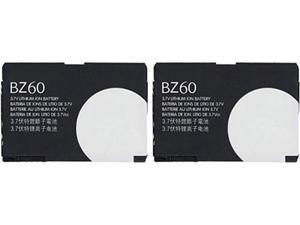 Replacement Battery  BZ60 / CFNN1045 / SNN5789B For Motorola  Phone 2 pack
