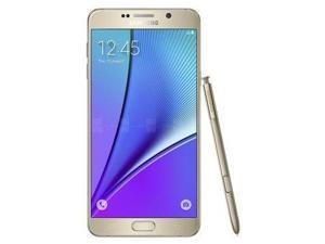 Samsung Galaxy Note 5 / SM-N920 Black Sapphire (International Model) Unlocked GSM Mobile Phone