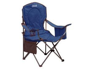 Coleman Oversized Quad Chair With Cooler - Blue Adult Quad Chair W/cooler