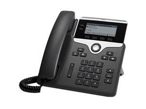 Cisco CP-7821-K9= Cisco 7821 IP Phone - Cable - Wall Mountable - 2 x Total Line - VoIP - Caller ID - SpeakerphoneUser Connect License - 2 x Network (RJ-45) - PoE Ports - Monochrome