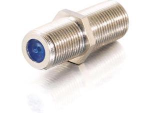 C2G 27309 C2G F-Type 2 GHz Video Coupler - 1 x F Connector Female - 1 x F Connector Female - Silver