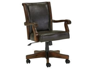 Alymere Home Office Swivel Desk Chair Rustic Brown Alymere Home Office Swivel Desk Chair Rustic Brown