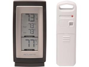 AcuRite 00831A2 AcuRite Digital Indoor / Outdoor Thermometer - Celsius, Fahrenheit Reading - Wall Mountable, Weather Resistant, Hanging Hole, Durable - For Indoor, Outdoor