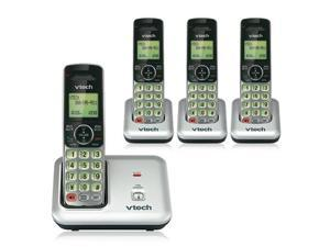 VTech CS6619-4 DECT 6.0 4 Cordless Interference-Free & Wide Range Handset New