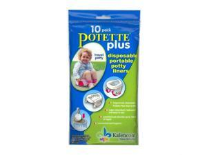 Kalencom Potette Plus Liners - 10 Pack Toilet Training Seat Cover