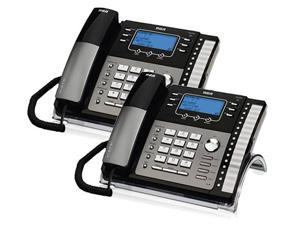 RCA ViSYS 25425RE1 (2-Pack) 4-Line EXP Speakerphone w/ Digital Answering System