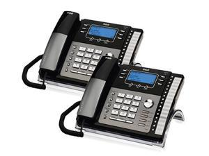 RCA ViSYS 25423RE1 (2-Pack) 4-Line Corded Phone