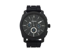 FS4487P Machine Chronograph Black Silicone Watch - 1 Pc Watch