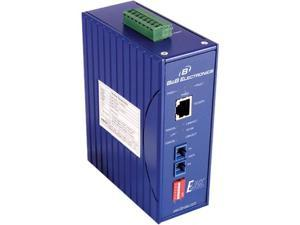 IMC EIR-S-SC B&B MEDIA CONVERTER DIN MOUNT 10/100 TO 100FX SM W/SC - 1 x Network (RJ-45) - 1 x SC Ports - 10/100Base-TX, 100Base-FX - Rail-mountable, Panel-mountable