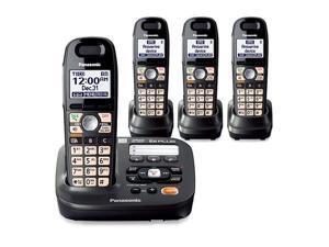 Panasonic KX-TG6592T + (2) TGA659T DECT 6.0 Plus 1.9GHz 4 Handset Cordless Phone