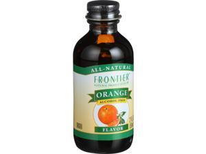 Frontier Orange Flavor -- 2 fl oz