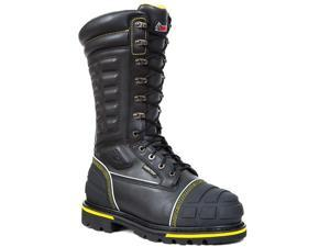 "Rocky Men's H.A.M. 13"" Black Internal MetGuard Insulated ST Leather Boots 8 M"