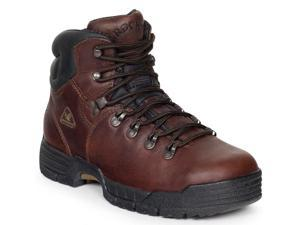 Rocky Men's MobiLite 6 Brown Waterproof Leather Boots  15 M