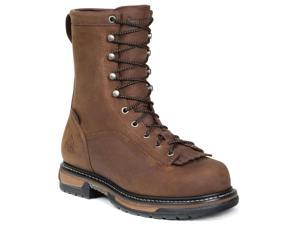 Rocky Men's Ironclad 9 Brown LTT Waterproof Leather Boots 11 M