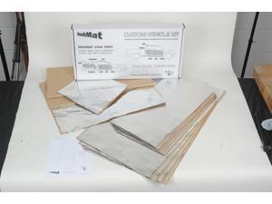 Hushmat 626681 Floor Insulation Kit Fits Apollo Chevy II Nova Omega Ventura