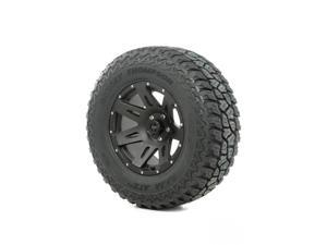 Rugged Ridge Wheel And Tire, Xhd, 18X9, Black Satin, 305/60R18 15391.46