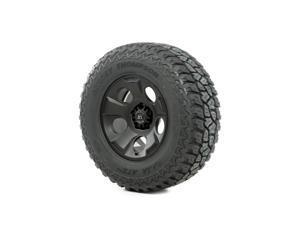 Rugged Ridge Wheel And Tire, Drakon, 17X9, Black Satin, 305/65R17 Atz P3 15391.41