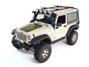 Rugged Ridge Sherpa Roof Rack Kit&#59; 07-16 Jeep Wrangler Jk, 2-Door 11703.21