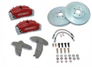 SSBC Performance Brakes A117-9R Tri-Power&#59; 3-Piston Disc Brake Kit