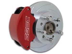 SSBC Performance Brakes A161 SuperTwin&#59; 2-Piston Disc Brake Kit Fits 00-07 Focus