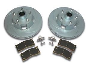 SSBC Performance Brakes A2360000 Turbo Slotted Rotors