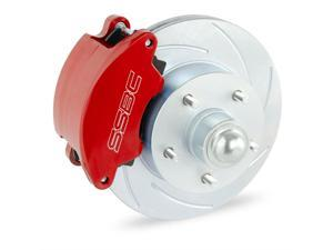 SSBC Performance Brakes SuperTwin 2-Piston Drum To Disc Brake Conversion Kit