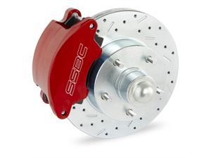 SSBC Performance Brakes At The Wheels Only SuperTwin 2-Piston Drum To Disc Brake Conversion Kit