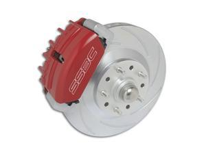 SSBC Performance Brakes A133-4 Tri-Power&#59; 3-Piston Disc To Disc Upgrade Kit