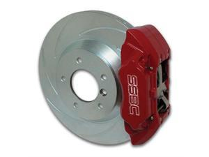 SSBC Performance Brakes A170-1BK Extreme&#59; 4-Piston Disc Brake Kit Fits Impreza