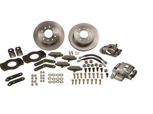 SSBC Performance Brakes At The Wheels Only Standard Drum To Disc Brake Kit