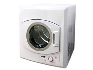 Sonya Compact Stainless Steel Tumble Dryer with a Capacity of 3.75 Cu.Ft. Apartment size 120V