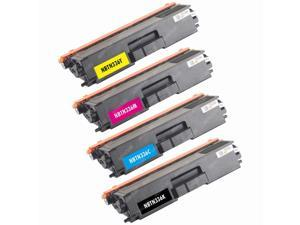 4-PACK (1 Set) Compatible Brother TN336 High Yield (BLACK, CYAN, MAGENTA, YELLOW) Toner Cartridges for HL-L8250CDN, HL-L8350CDW, HL-L8350CDWT, MFC-L8600CDW, MFC-L8850CDW Color Laser Printer