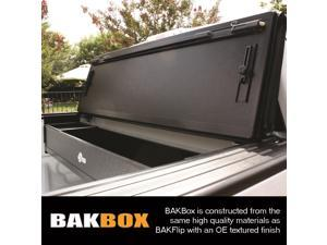 BAK Industries 92321 BAK Box 2&#59; Tonneau Cover Tool Box Fits 15 F-150