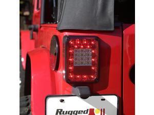 Rugged Ridge 12403.88 LED Taillight Assembly Fits 07-14 Wrangler (JK)