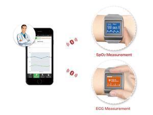 CMS50K Best Home Use Wrist Blood Pressure Monitor Wearable Digital Spo2 monitor Wireless Bluetooth Smart Calorie Tester