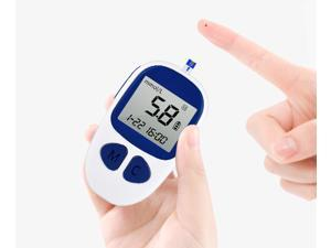 DHL free CE Diabetics Test glucometro Monitor Certificate Blood Glucose Meters Monitor 50 strips+50 Lancets blood Sugar AH-506