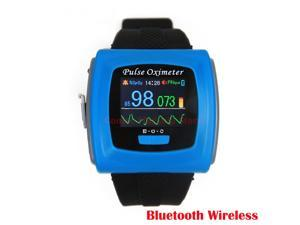 Bluetooth Wireless function Wearable Pulse Oximeter CMS50FW Wrist Pulse Oxygen SPO2 Monitor USB Software for PC,CE FDA